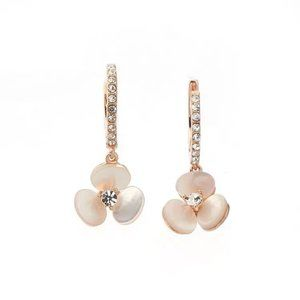 kate spade Jewelry - Kate Spade Fashion Pearl Gold-plated Earring